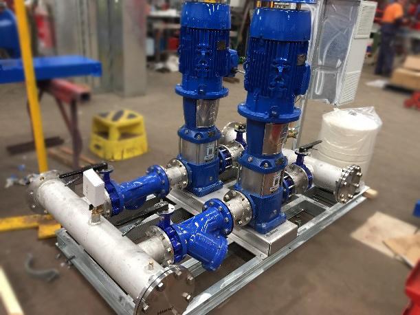 Lowara Pumps for Aldi Stores 3