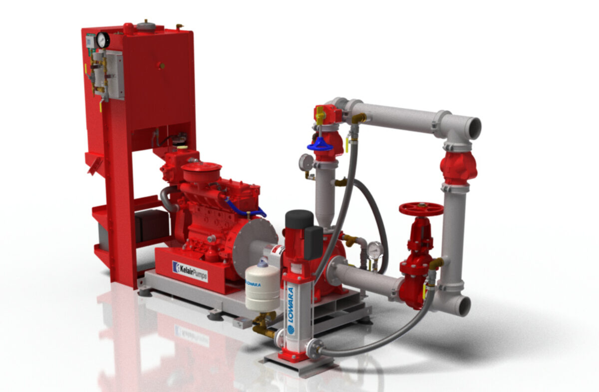 Kelair Pumps Australia | Diesel & Electric Hydrant Booster Pumps